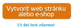 vytvoriť web stránku alebo e-shop